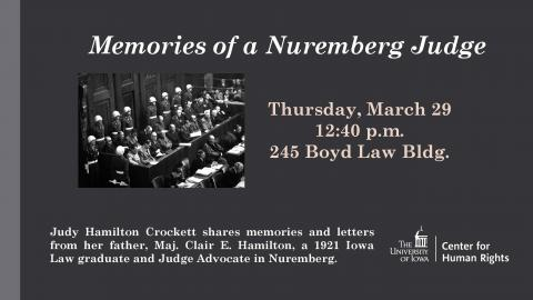 Nuremberg Event Flyer