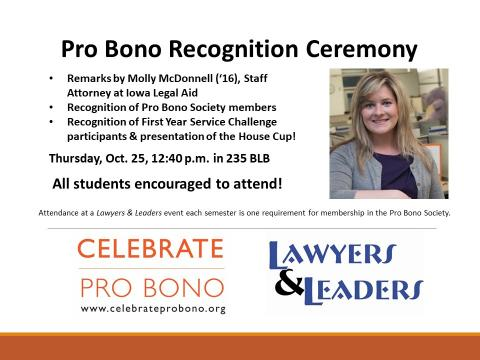 pro bono celebration